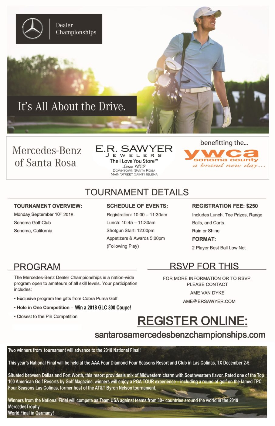 Mercedes-Benz Golf Tournament @ Sonoma Golf Club