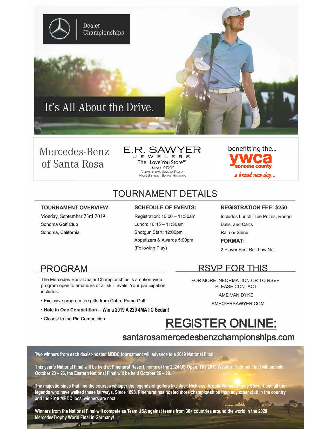 Mercedes-Benz Golf Tournament - National Qualifier @ Sonoma Golf Club